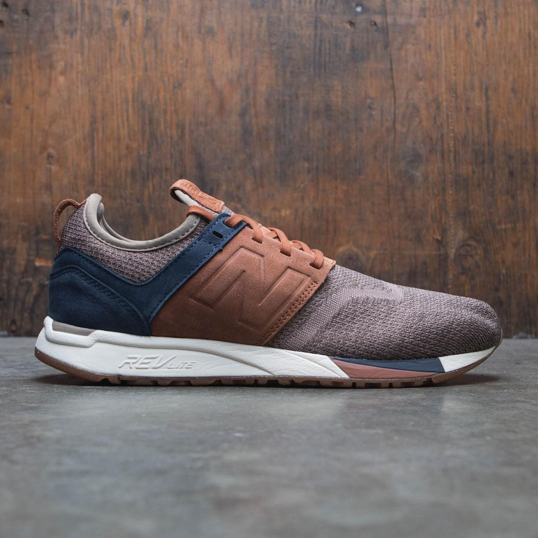 New Balance Men 247 Luxe Knit MRL247LB (brown tan nubuck)