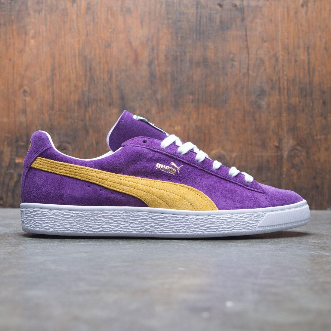 41843973c144 Puma Men Suede Classic - Made In Japan Collectors purple yellow