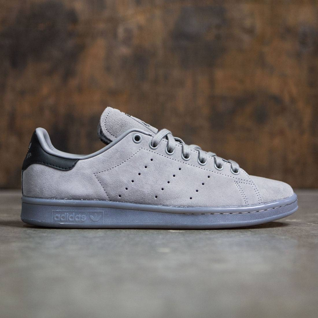 meet 3a9c2 af660 Adidas Men Stan Smith (gray / charcoal solid grey)