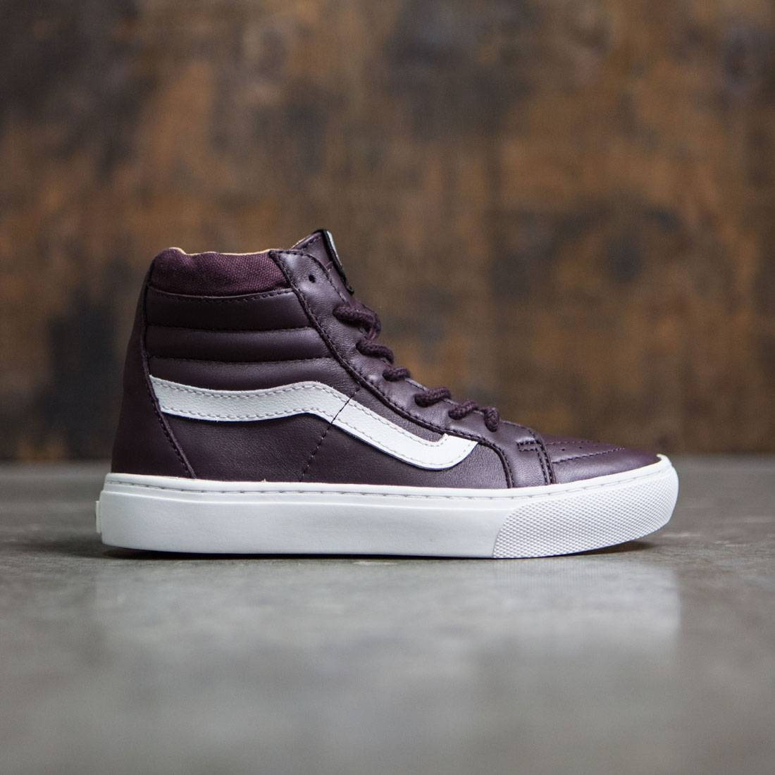 Vans Women SK8-Hi Cup - Leather brown desert taupe b3e30ae82