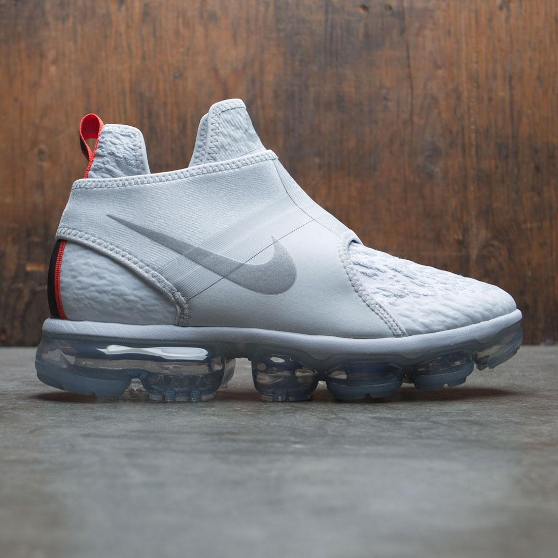 7b48f73b26e nike men air vapormax chukka slip grey pure platinum reflect silver white
