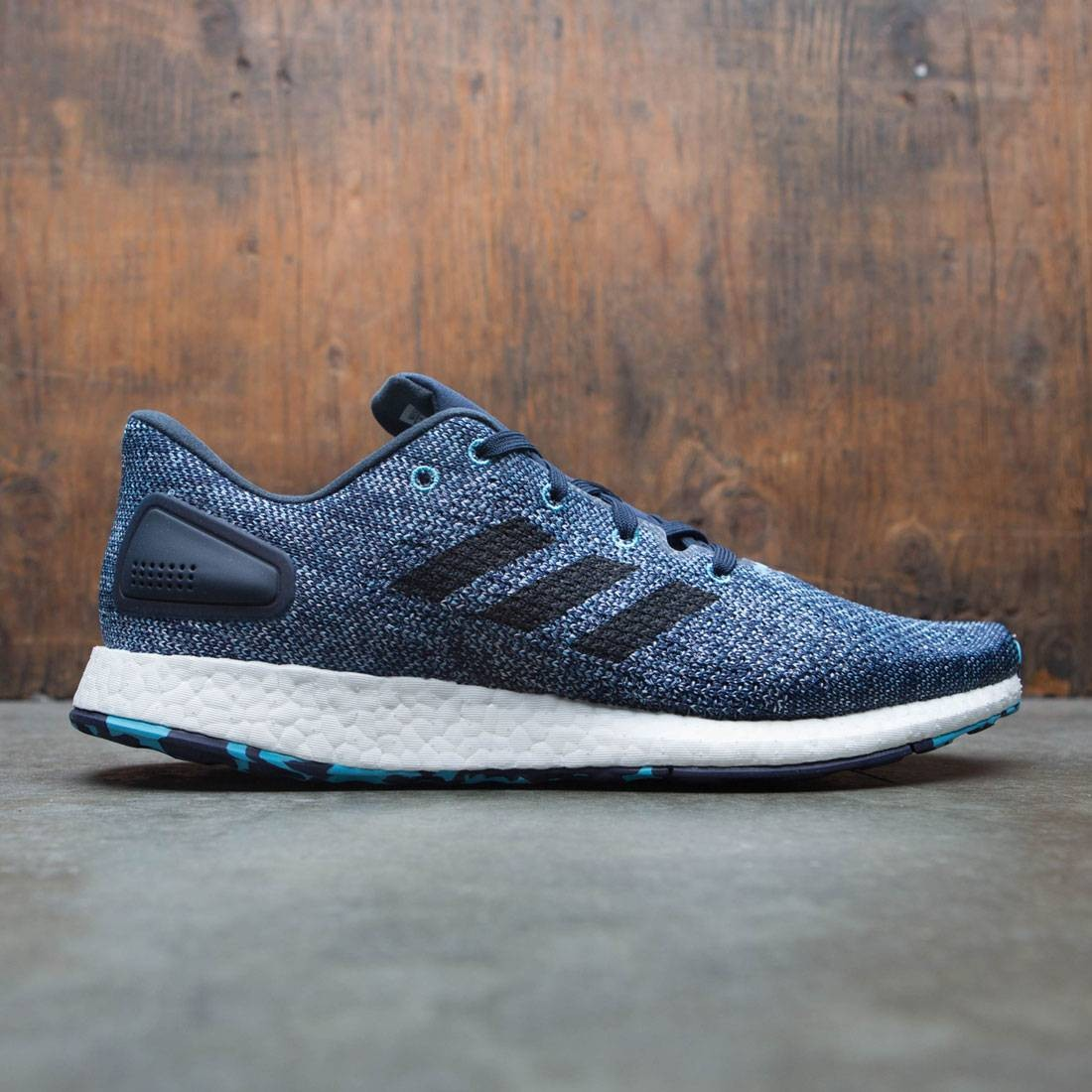 bf71ed968f0 Adidas Men PureBOOST DPR LTD white core black vapor blue