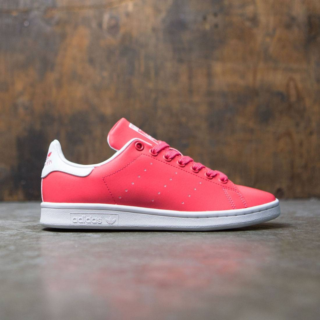 outlet store 771fb 0417f Adidas Women Stan Smith (pink / core pink / footwear white)