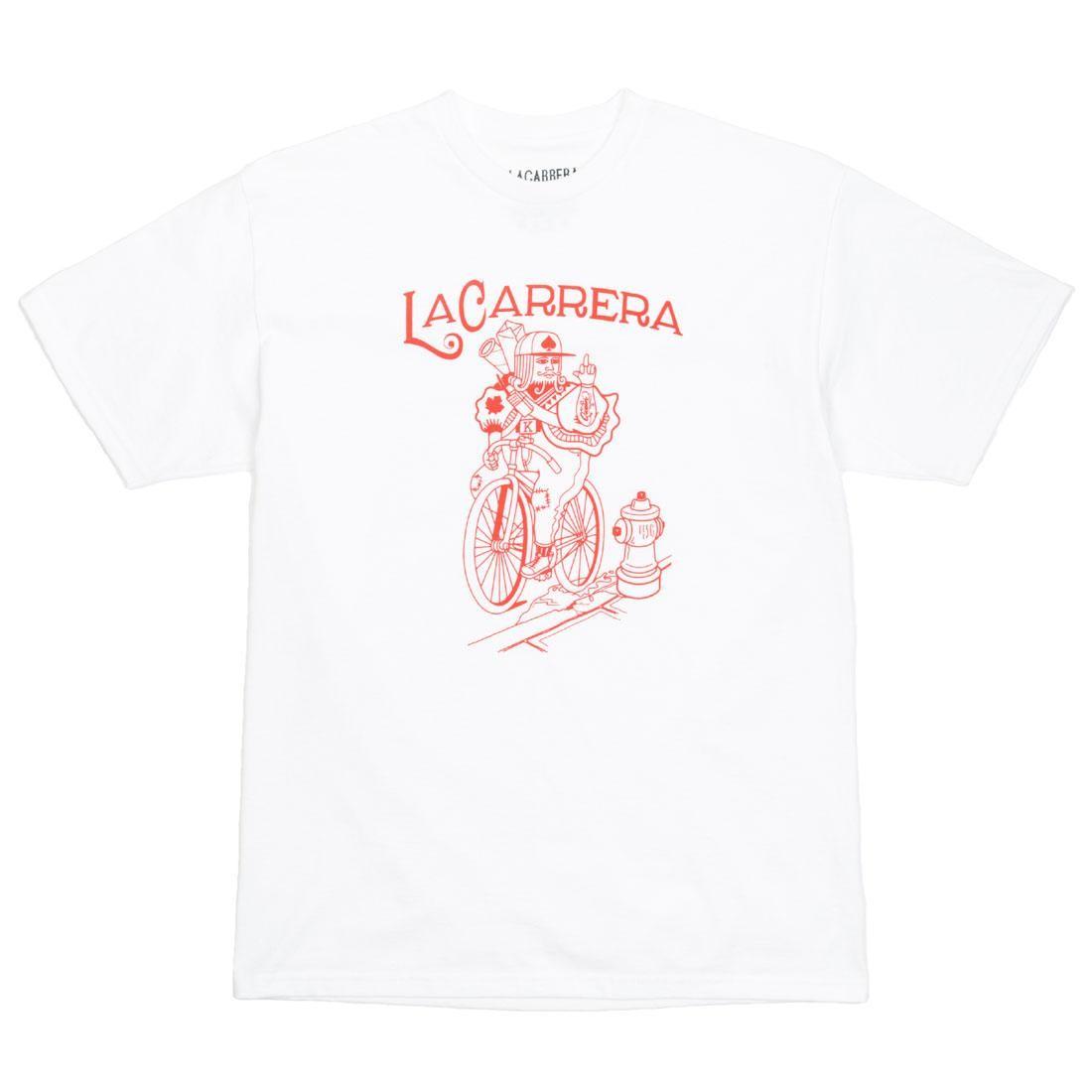 La Carrera Men The King Rides Again Tee - Japan (white / red)