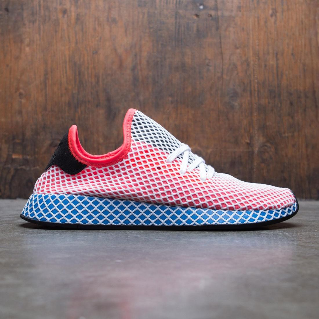 the best attitude 26c16 00d27 adidas men deerupt runner orange solar red bluebird