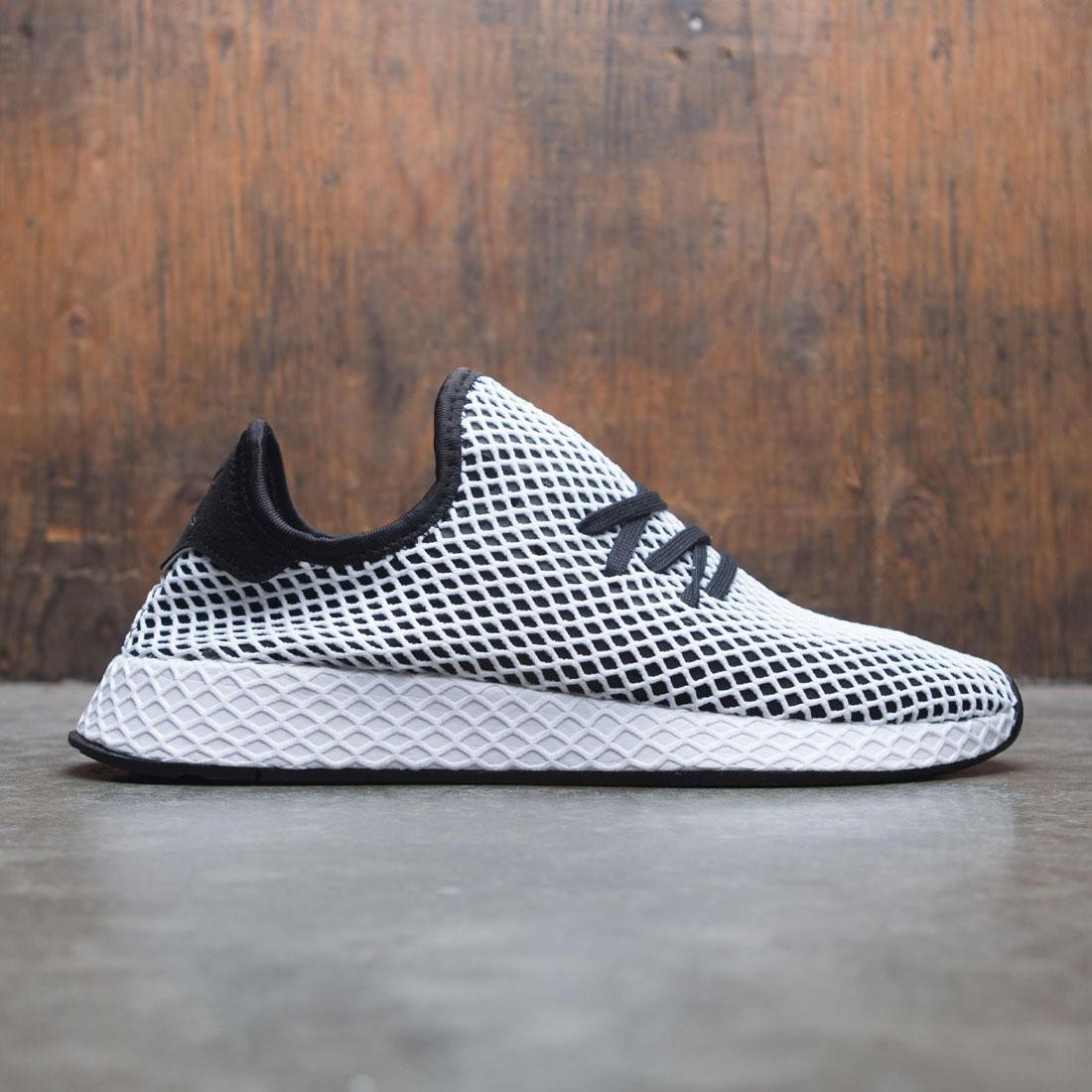 45e4092d0b8f70 adidas men deerupt runner black core black footwear white