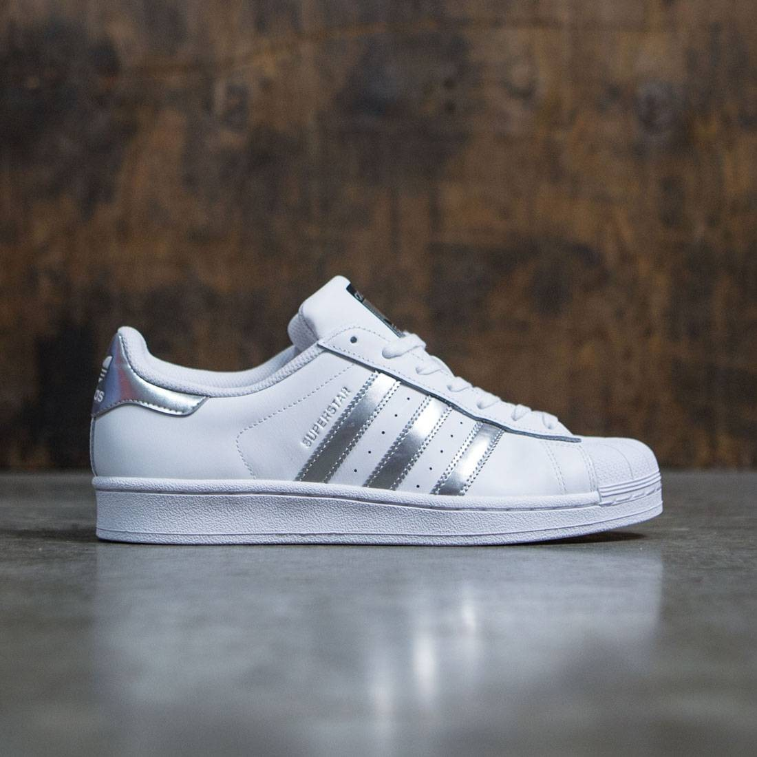 Adidas Superstar Women ftwr whitesilver metalliccore black