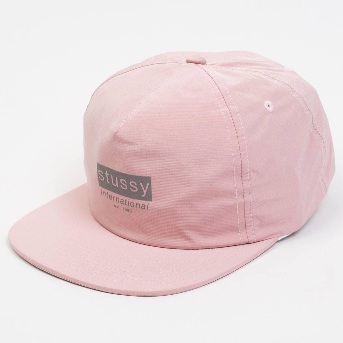 Stussy Reflective Tape Cap (pink) 7113b90185d
