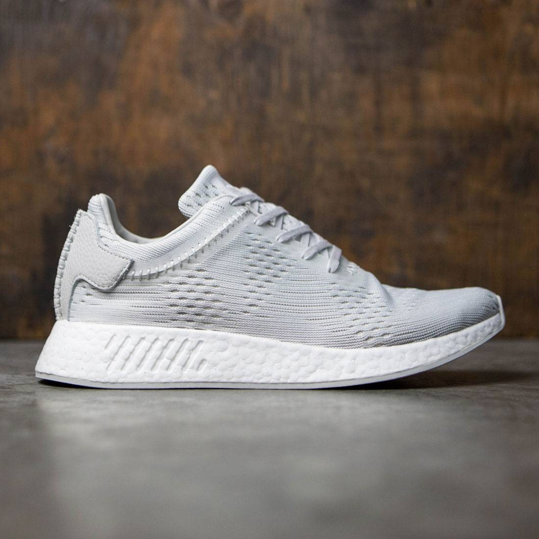d75ec013b Adidas x Wings + Horns Men NMD R2 Primeknit gray hint