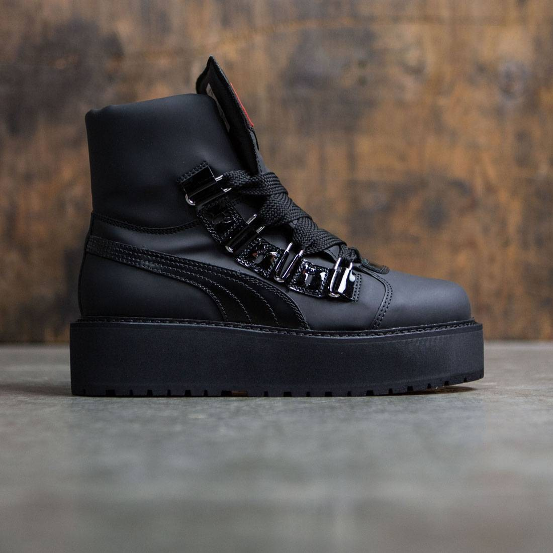 newest 53e0a c0af1 Puma x Fenty By Rihanna Men SB Boot Eyelets (black)