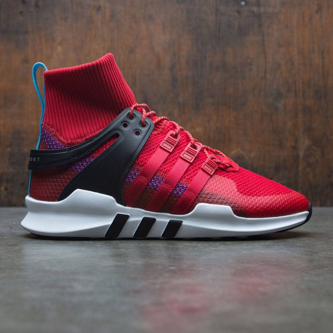 the latest 0529b dc409 Adidas Men EQT Support ADV Winter (red / scarlet / shock purple)