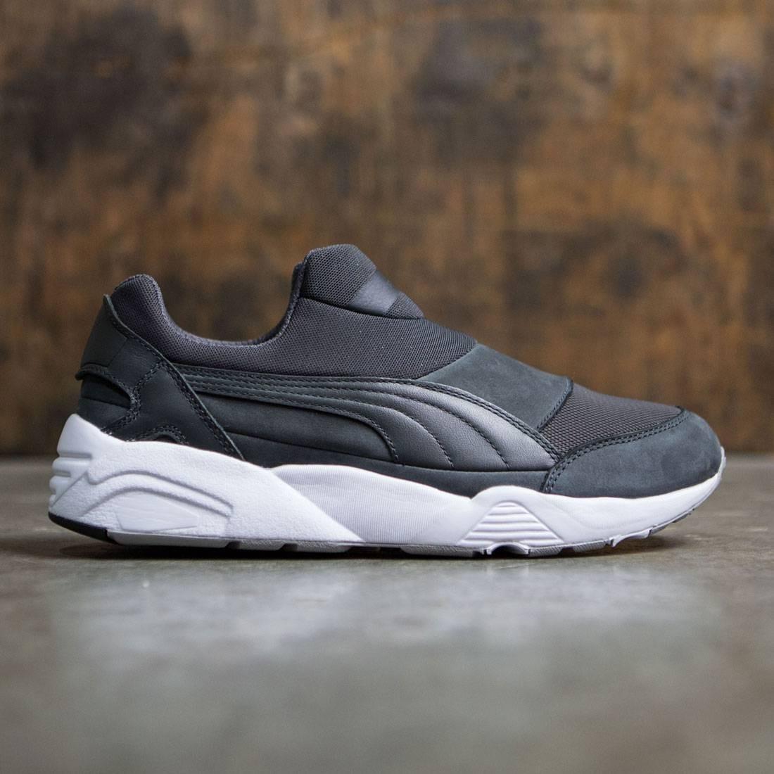 67a3784c1f67 Puma x Stampd Men Trinomic Sock gray asphault white