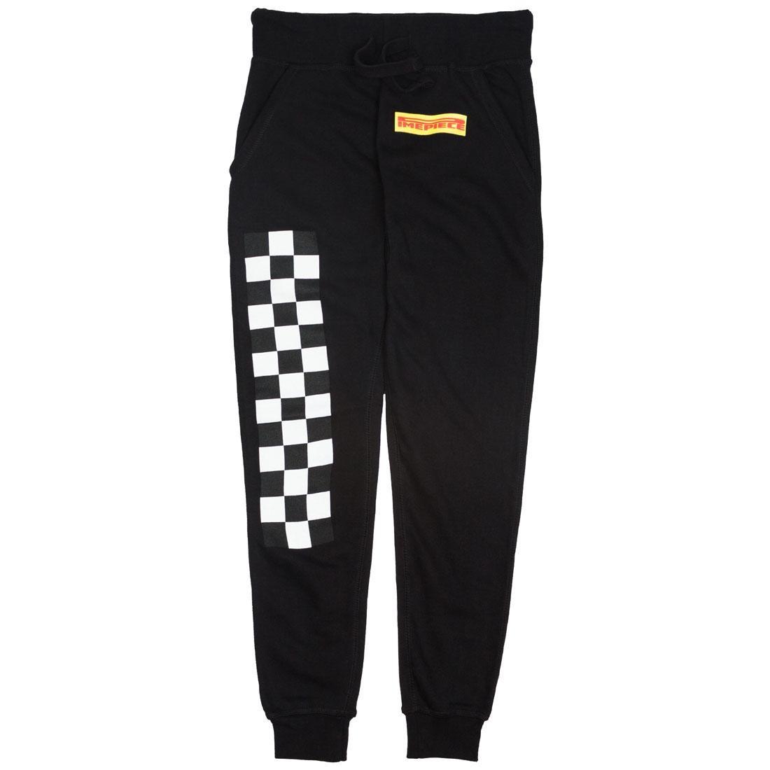 Dimepiece Women Dimepiece Checkers Sweat Pants (black)