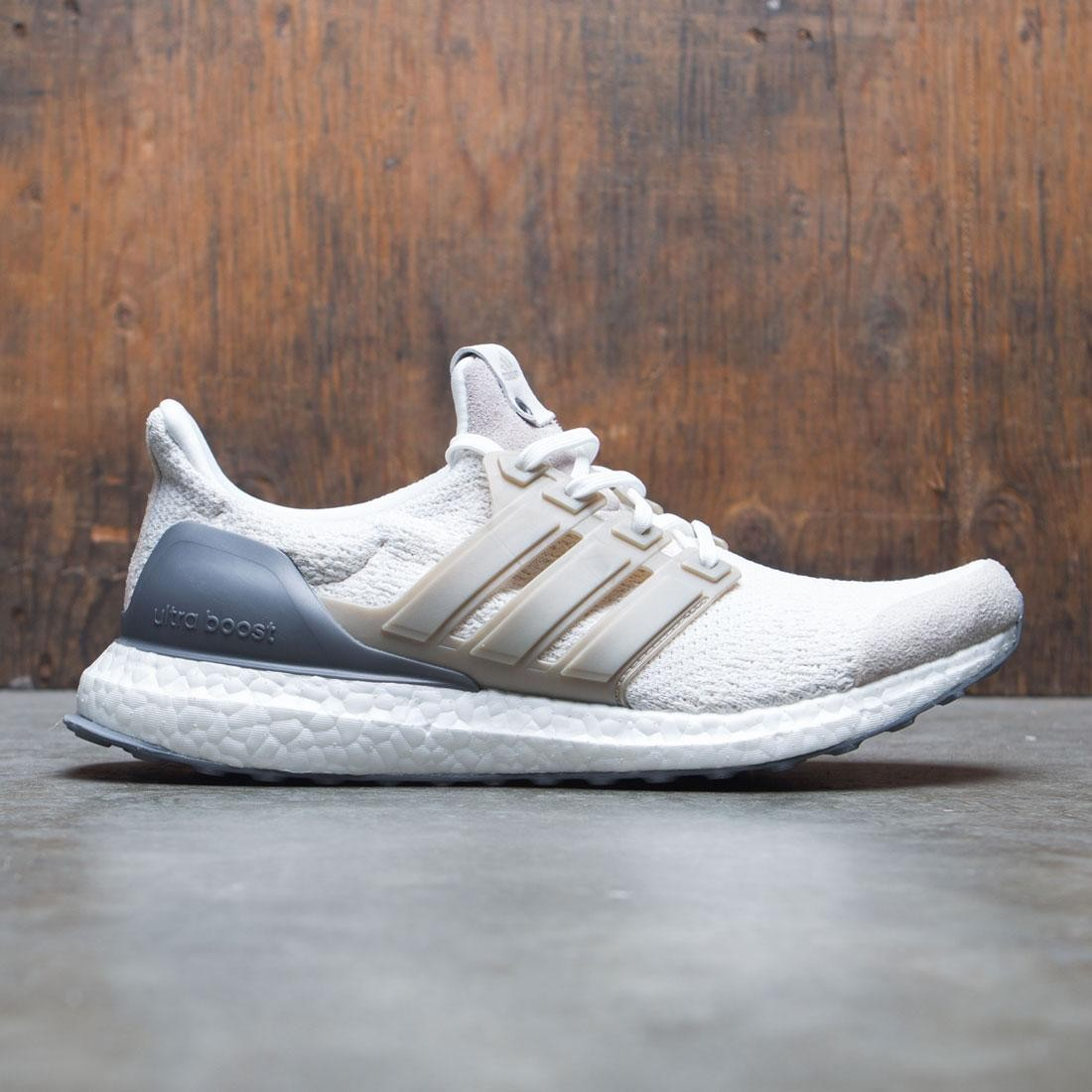 Adidas Consortium Men UltraBOOST Lux white vintage white chocolate brown 2862405fb9ec