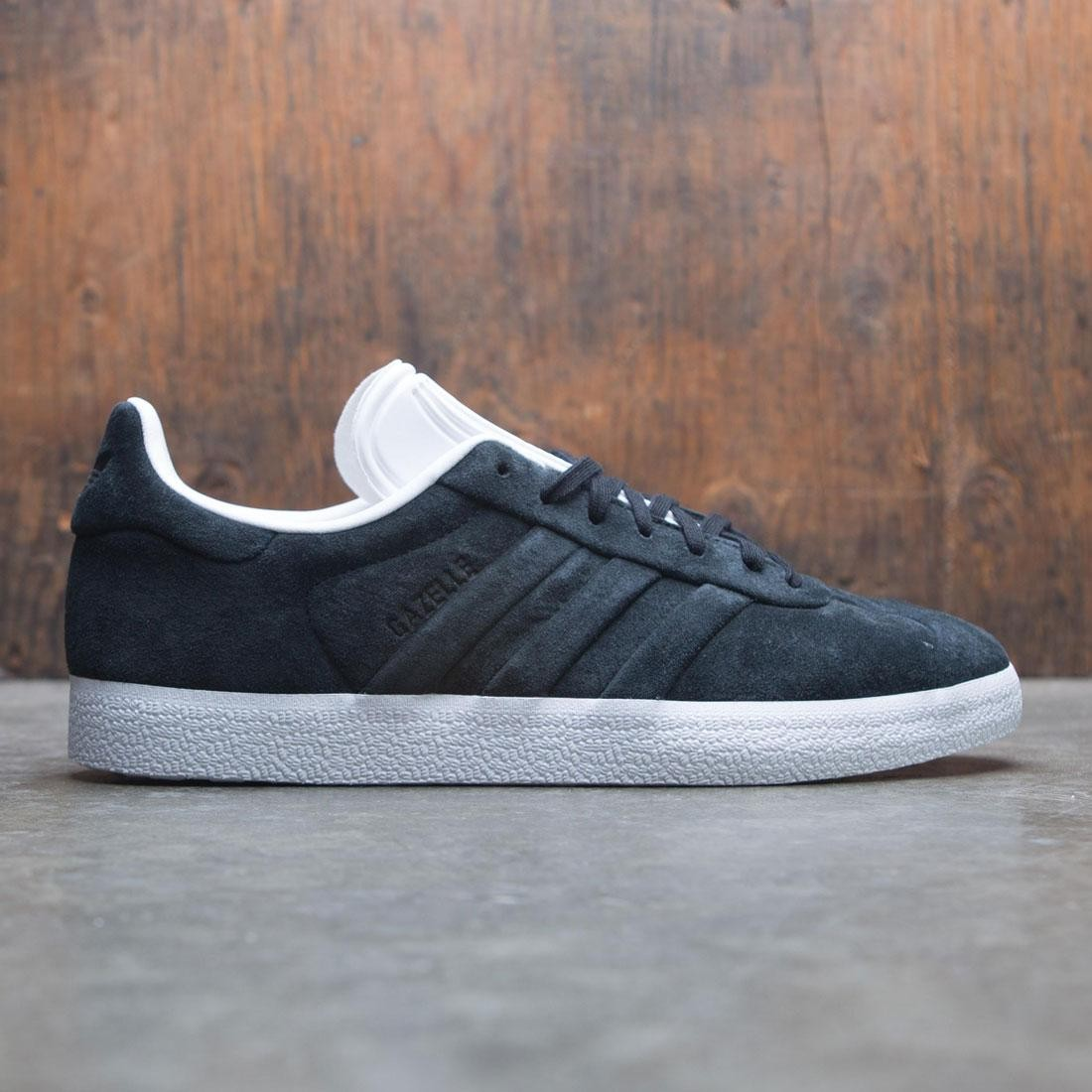 Adidas Men Gazelle Stitch And Turn (black / core black / footwear white)