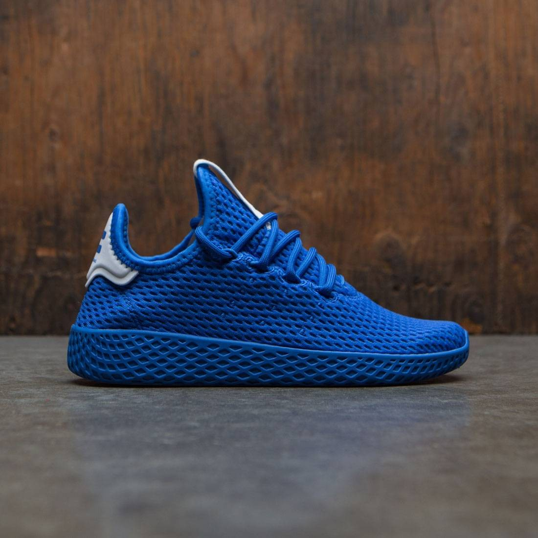 Adidas x Pharrell Williams Big Kids Tennis Hu (blue / footwear white)