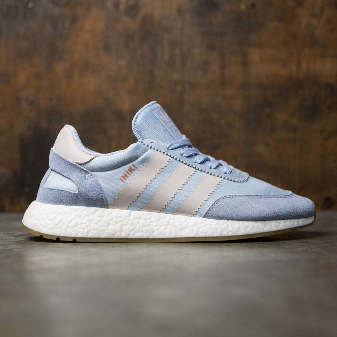 separation shoes 72be3 c469a Adidas Men Iniki Runner blue easy blue pearl grey gum