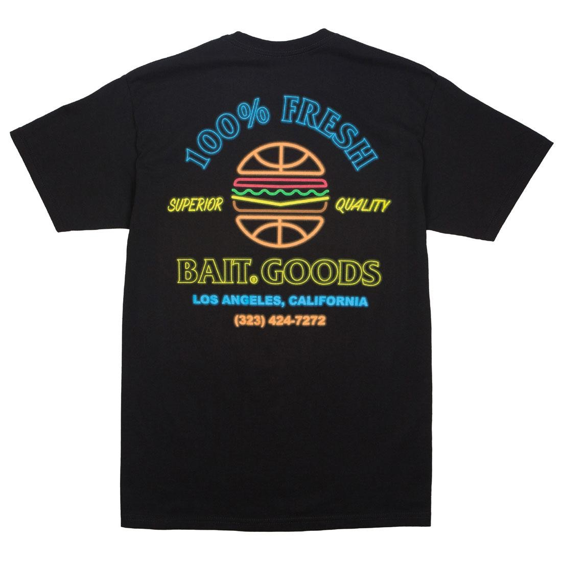 BAIT Men BAIT Goods Burger Tee (black)