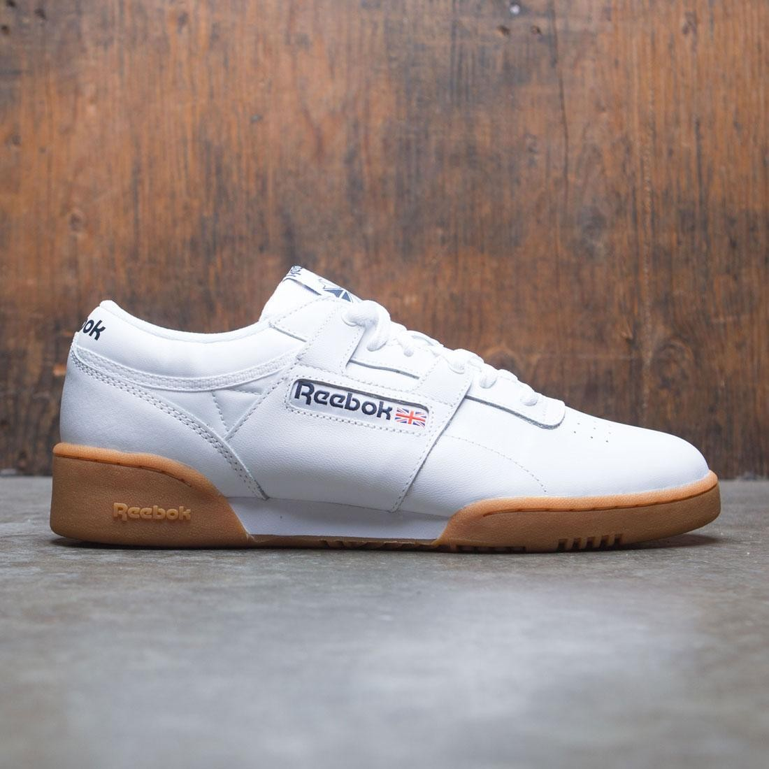 549fb6edf2d308 Reebok Men Workout Low white gum