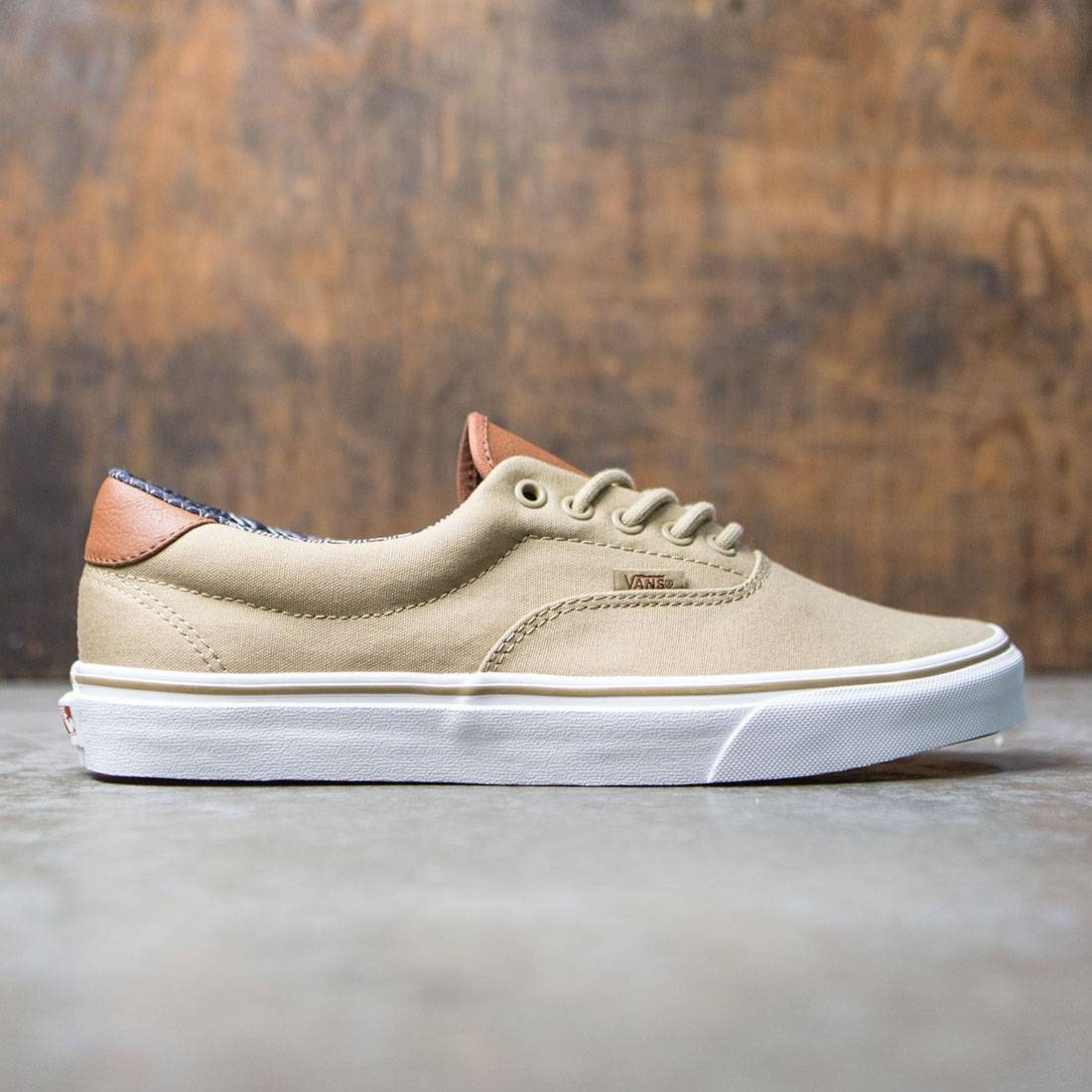 0f9eecf4ae Vans Men Era 59 - C And L khaki material mix