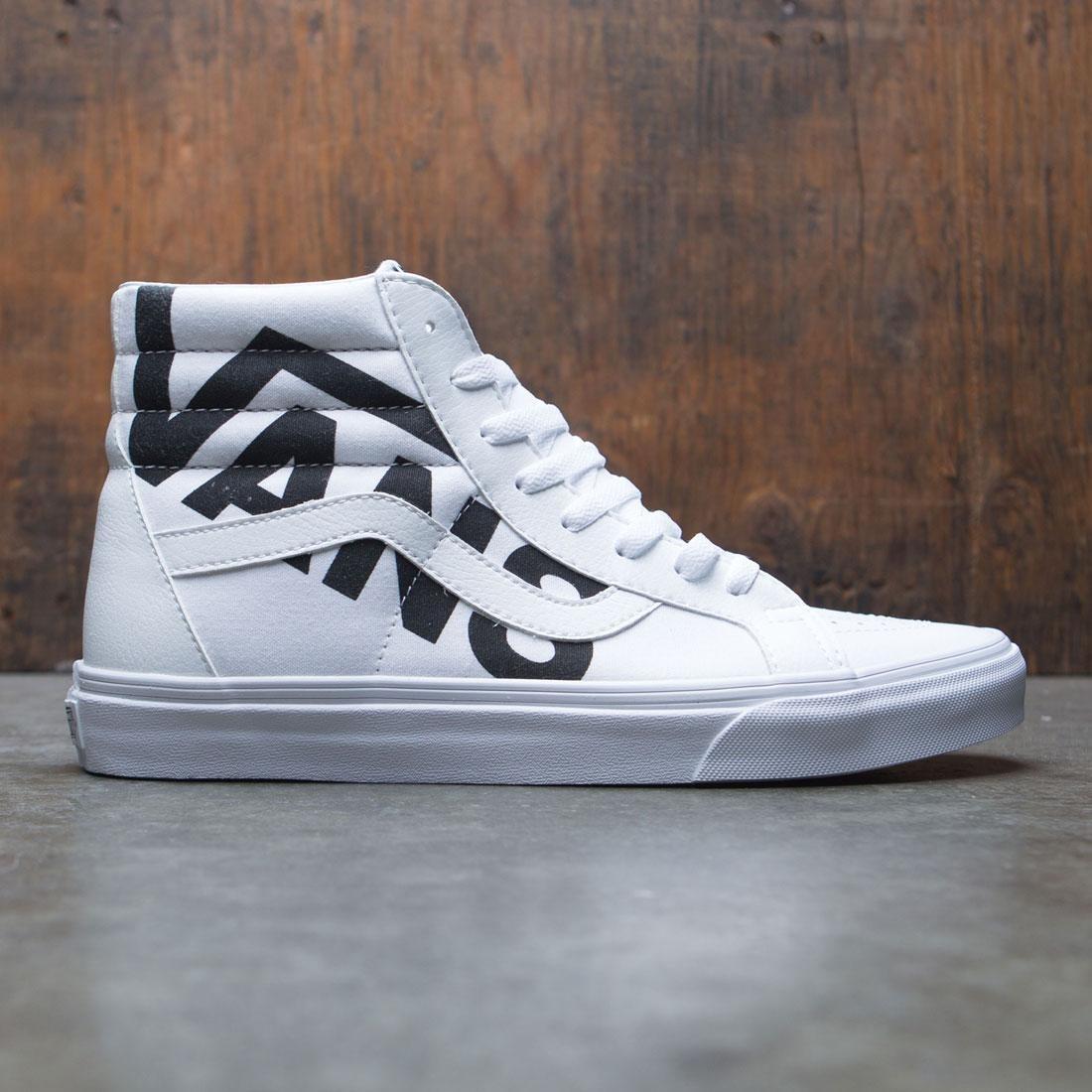 Vans Men SK8-Hi Reissue - Logo white black ed8291939