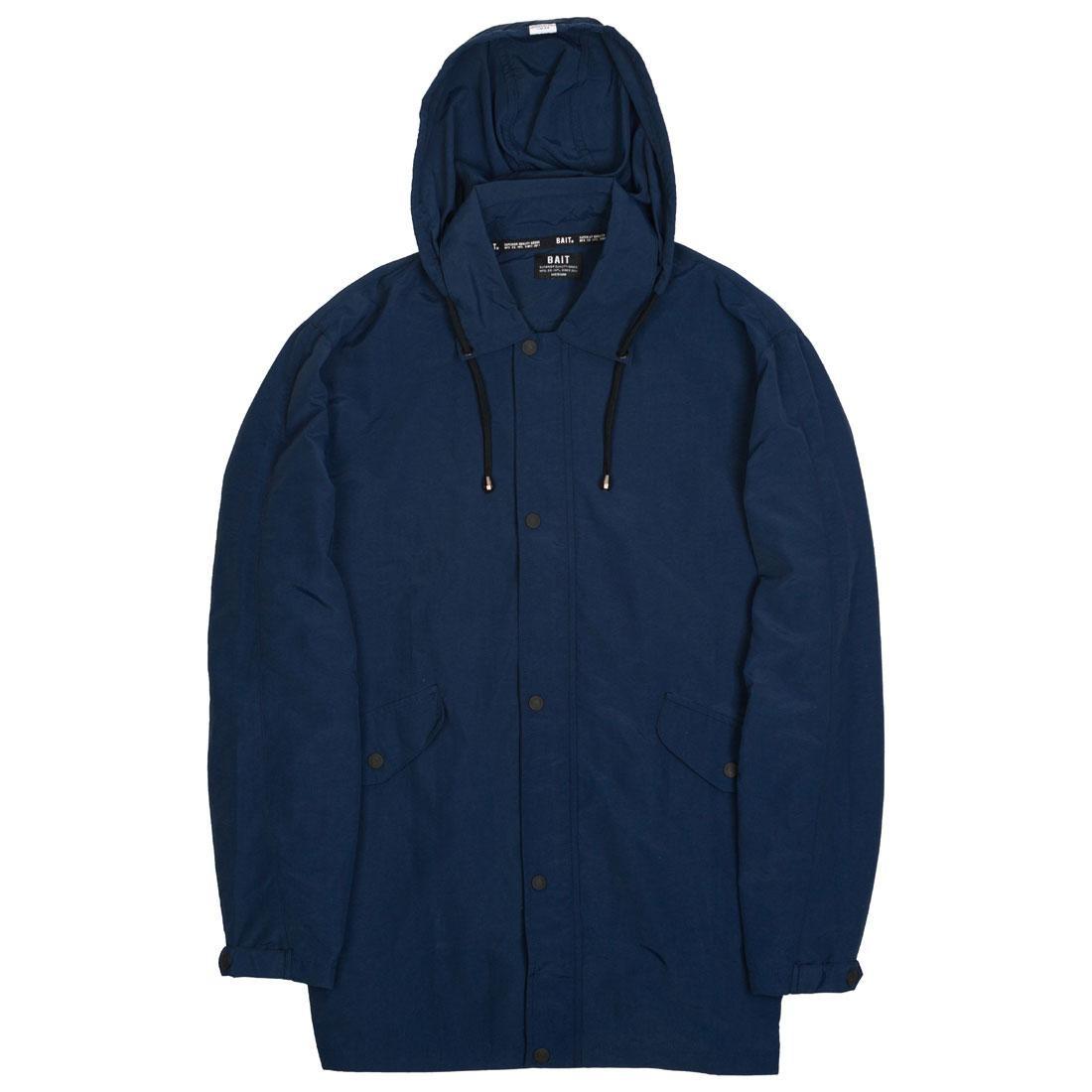 BAIT Men Nylon Windbreaker Jacket (navy / blue)