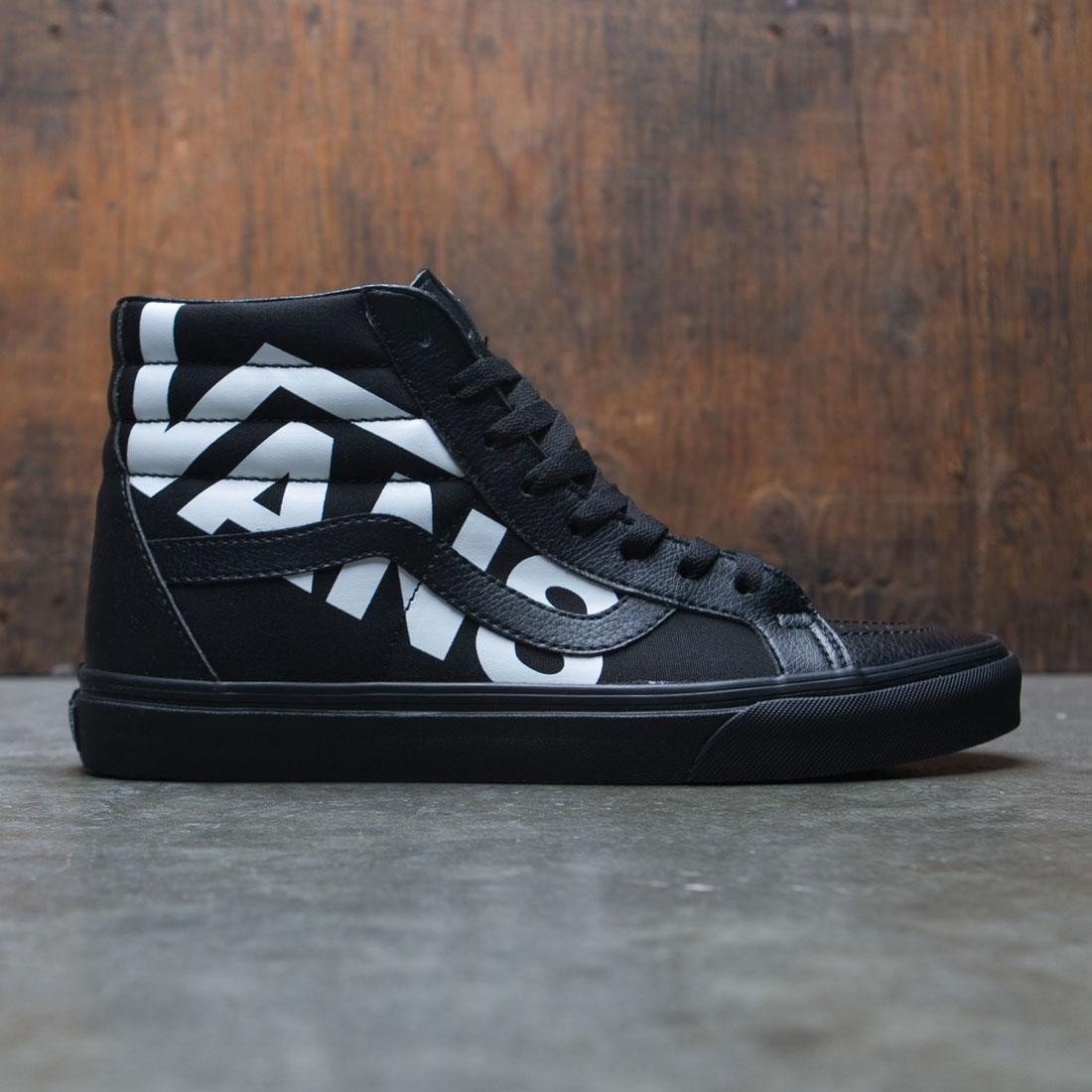 Vans Men SK8-Hi Reissue - Logo (black / white)