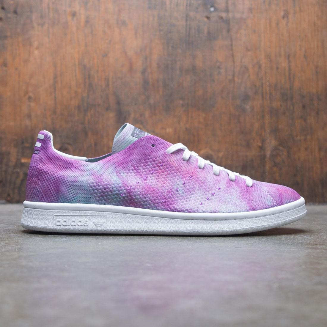 ed525cad5ec9c Adidas x Pharrell Williams Men Hu Holi Stan Smith MC purple chalk coral  footwear white