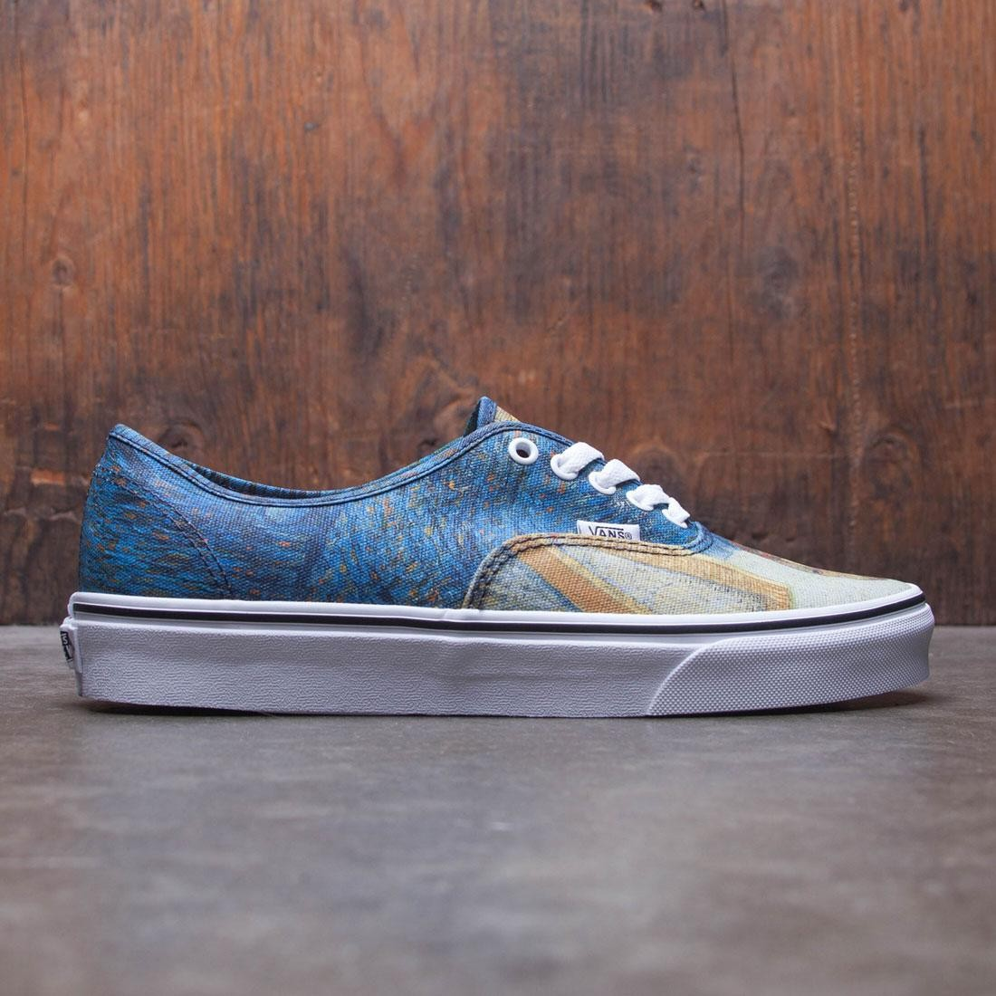 Vans Men Authentic - Van Gogh (blue / portrait)