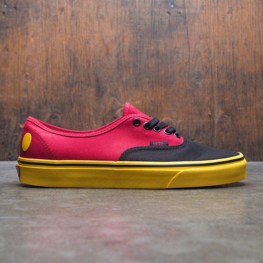 2f3eaf20c70700 Vans x Disney Men Authentic - Mickey red yellow