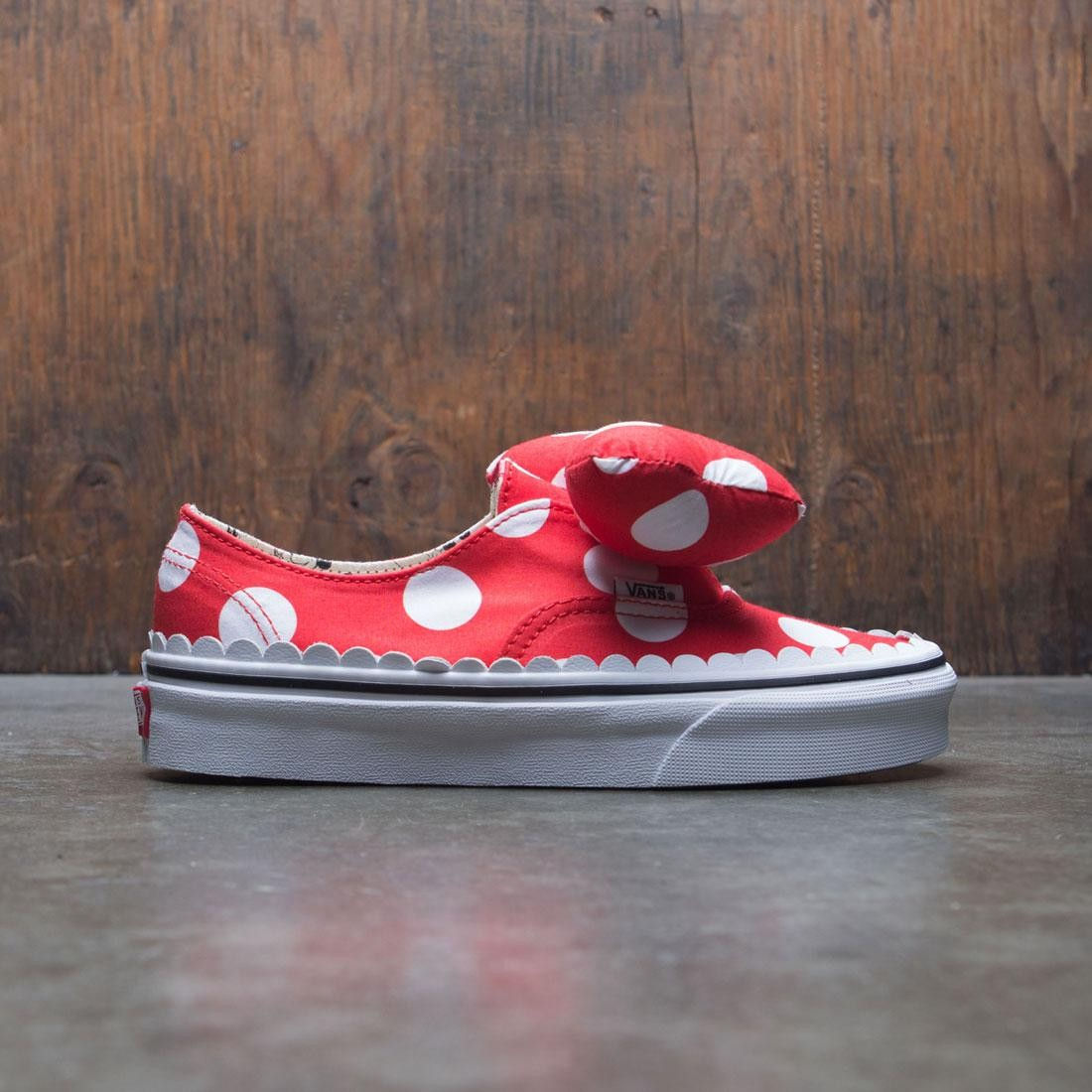 Vans x Disney Women Authentic Gore - Minnie Mouse Bow (red)