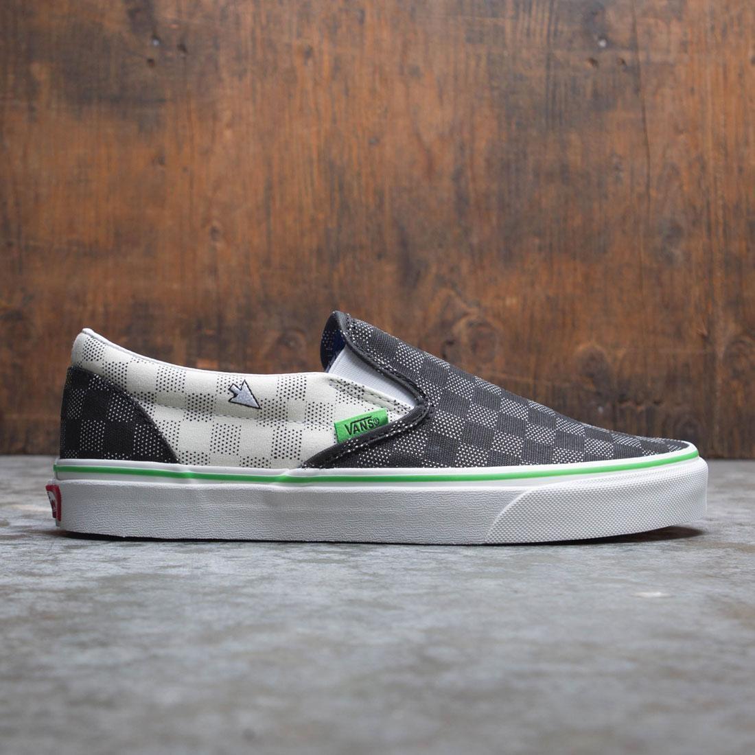Vans Men Classic Slip-On - Vanscii (black / white)