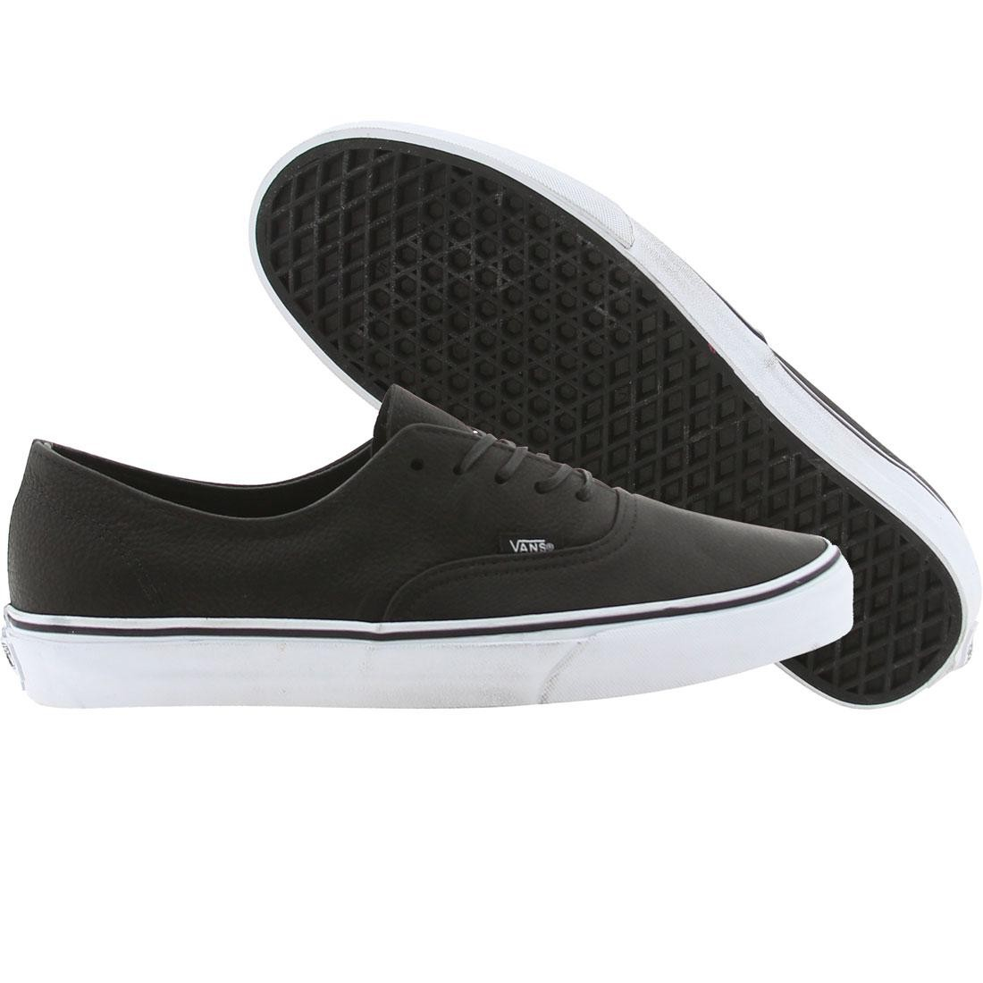 9663bf5853 Vans Men Authentic Decon CA (distressed leather black)