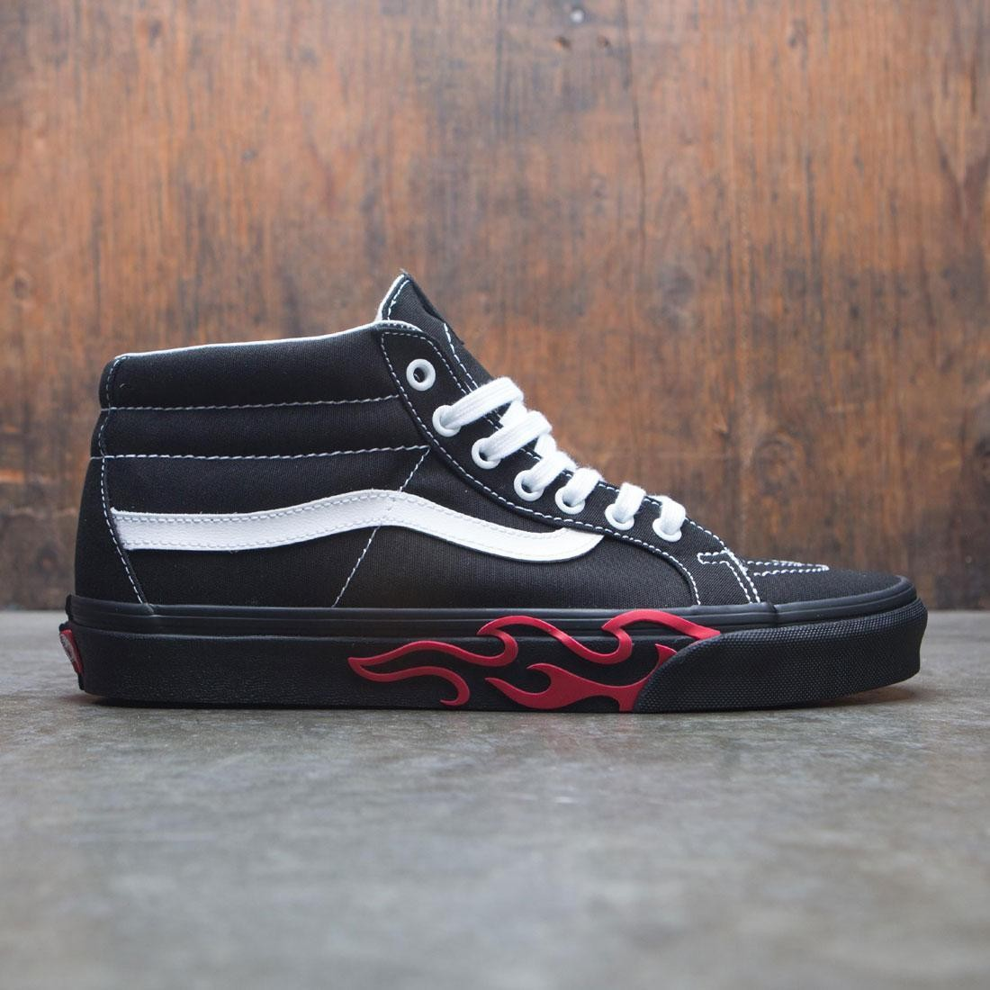 Vans Men SK8-Hi Mid (black / flames)