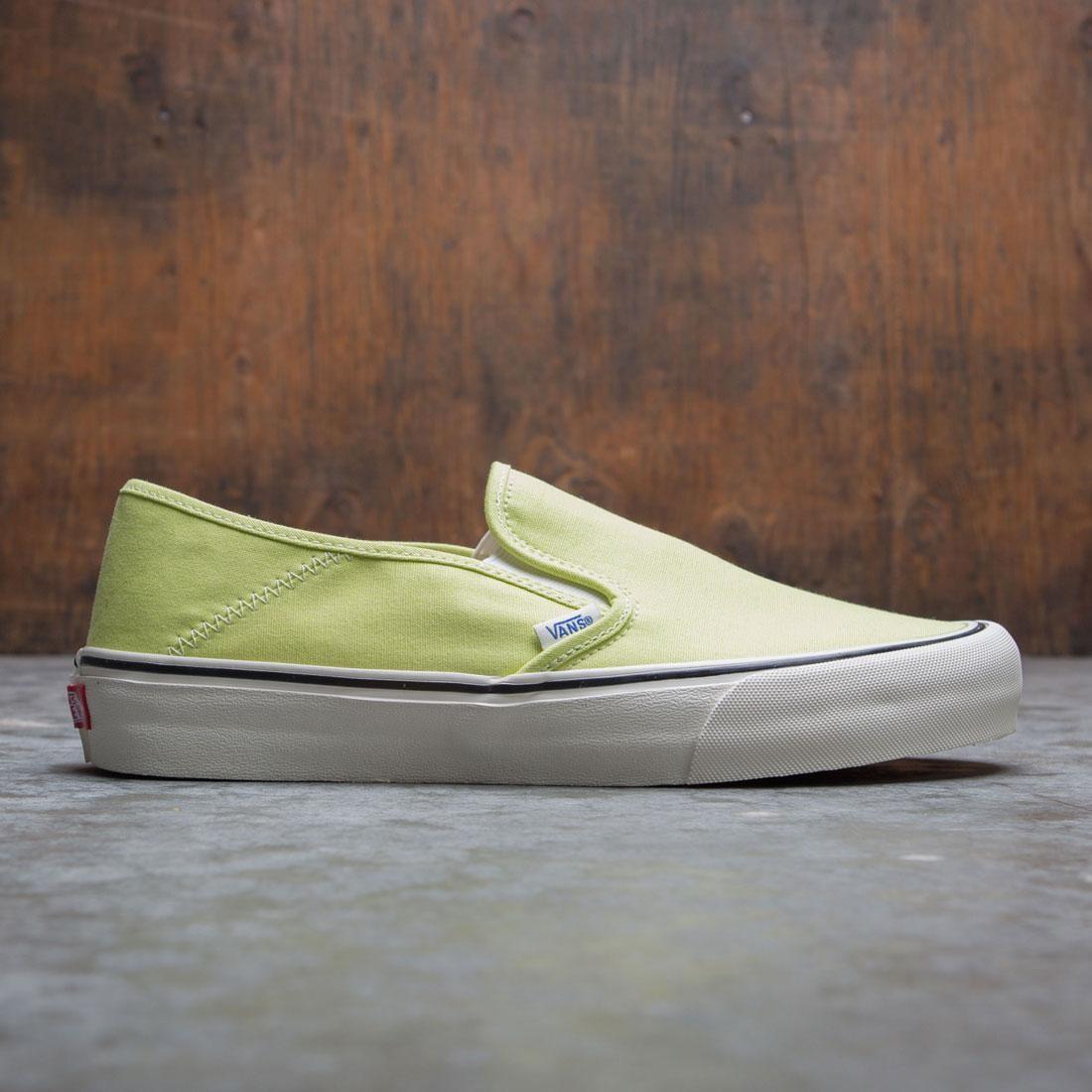 Vans Men Slip-On SF - Salt Wash (green / sunny lime)