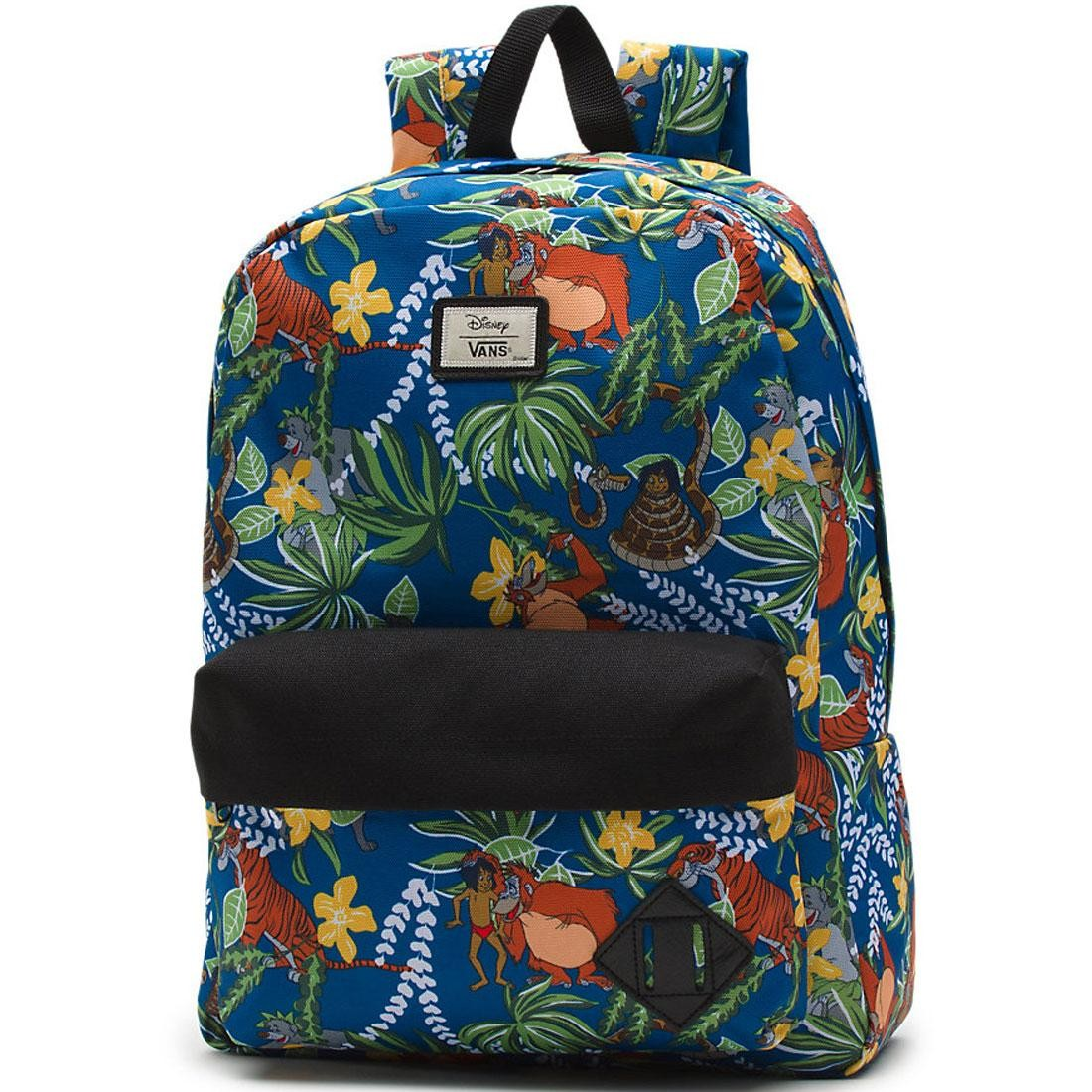 Vans x Disney Old Skool II Backpack - Jungle Book green blue 2e0592bc78589