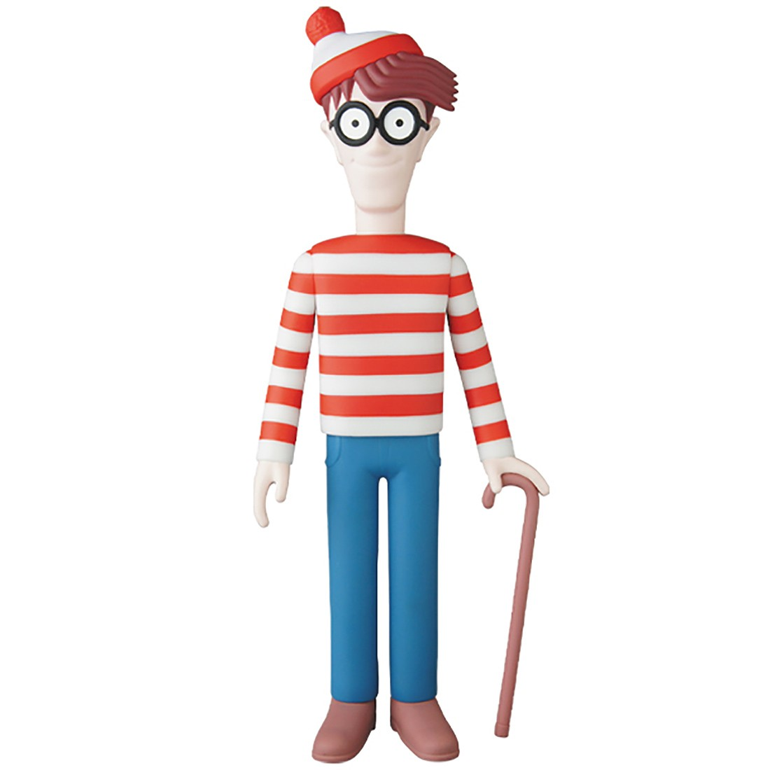 PREORDER - Medicom VCD Where's Wally? Wally Figure (red)