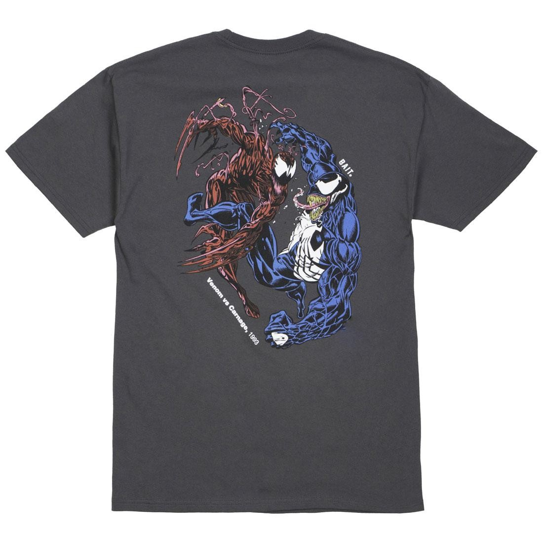 BAIT x Marvel Comics Men Carnage Vs Venom Tee (gray)