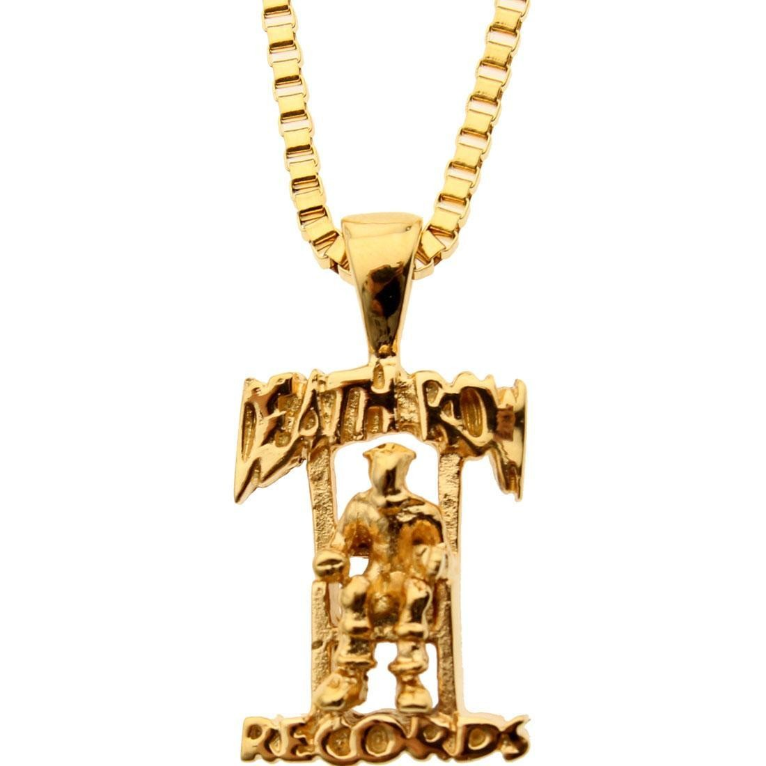 Veritas Aequitas Death Row Necklace (gold)