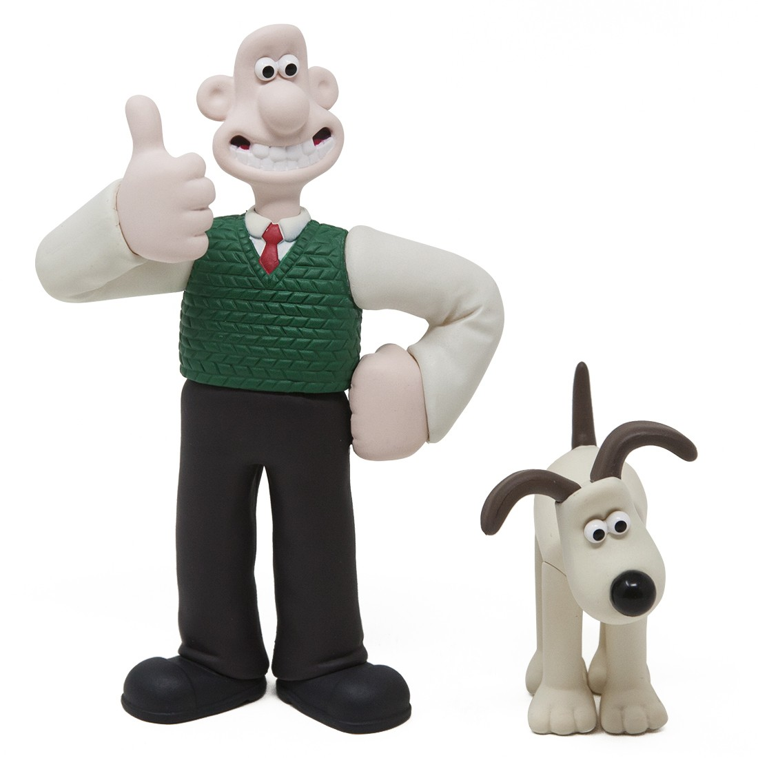 Medicom udf aardman animations series 1 wallace and gromit wallace and gromit white