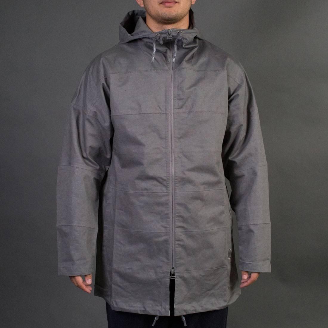 Adidas x Wings + Horns Men Tech Parka Jacket (gray / ash)