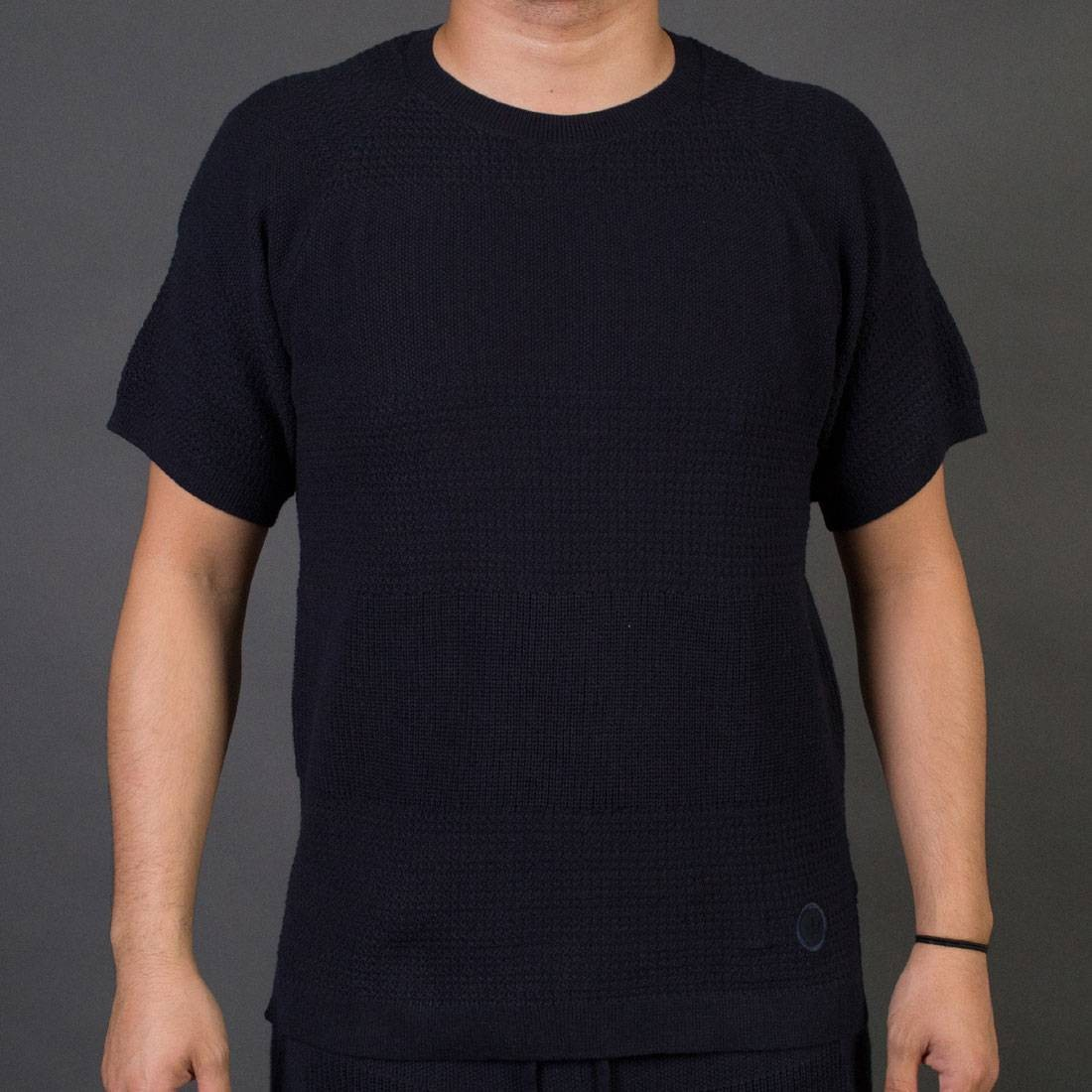 on sale 6a735 4f77e Adidas x Wings + Horns Men Linear Tee navy night navy