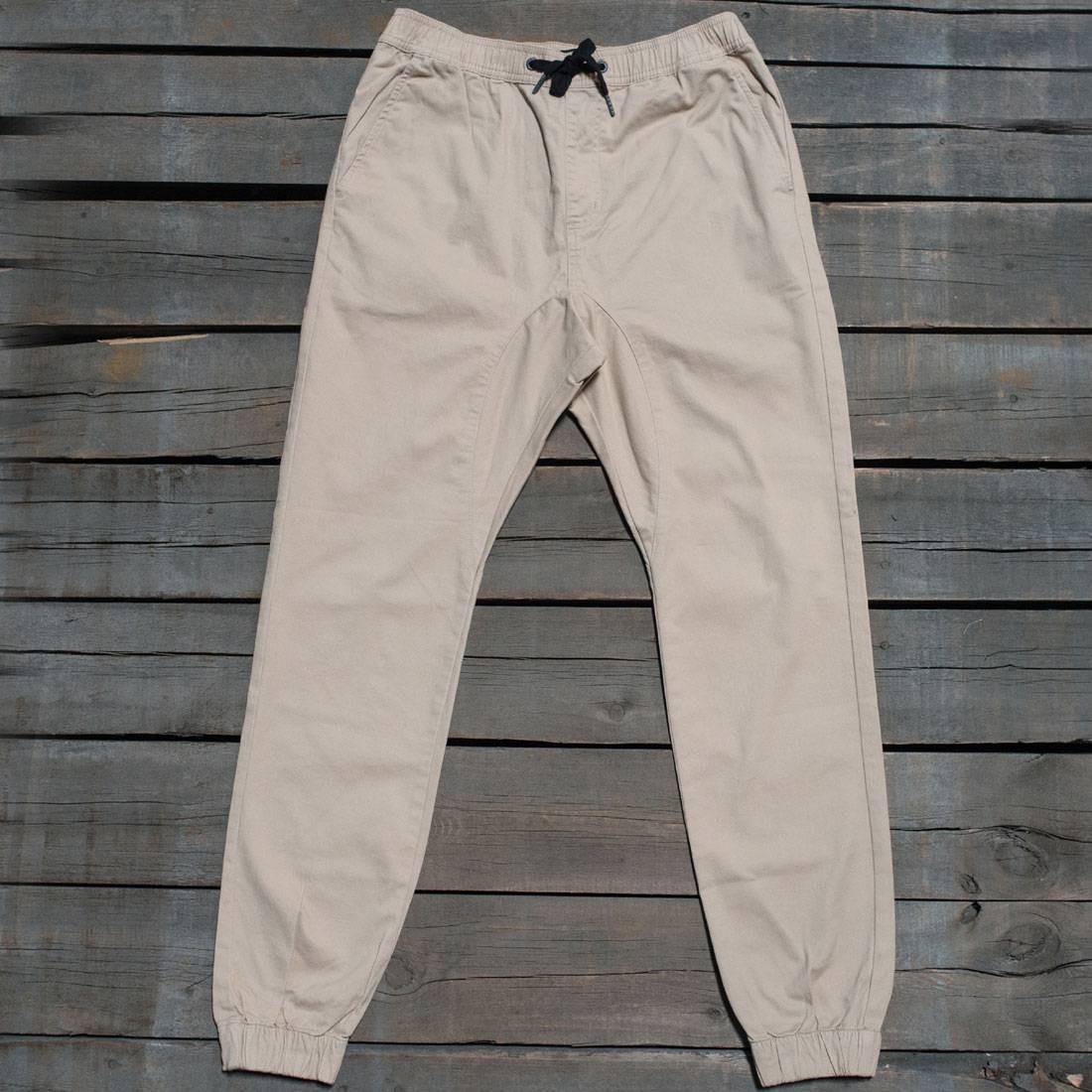 Zanerobe Men Sureshot Jogger Pants (tan)