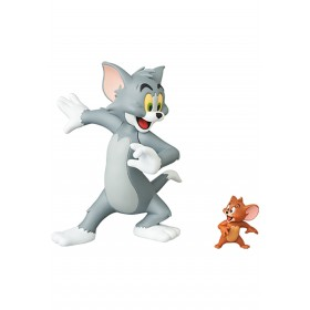 PREORDER - Medicom UDF Tom And Jerry - Tom And Jerry Figures (gray / brown)