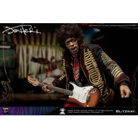 PREORDER - Blitzway Premium UMS Jimi Hendrix 1/6th Scale Action Figure (black)