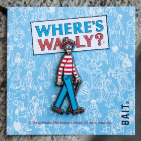 BAIT x DreamWorks Wheres Wally Pin (blue)