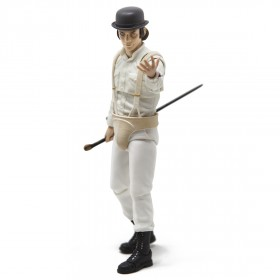Medicom A Clockwork Orange Alex DeLarge MAFEX Figure (white)