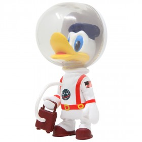 Medicom UDF Disney Series 8 Astronaut Donald Duck Vintage Toy Ver Ultra Detail Figure (white)