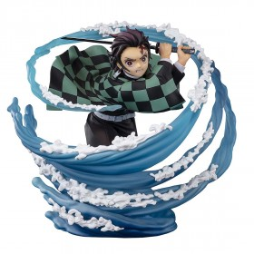 PREORDER - Bandai Figuarts Zero Demon Slayer Kamado Tanjiro Breath of Water Figure (blue)