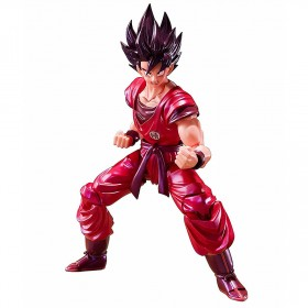 PREORDER - Bandai S.H.Figuarts Dragon Ball Son Goku Kaioken Ver. Figure (red)